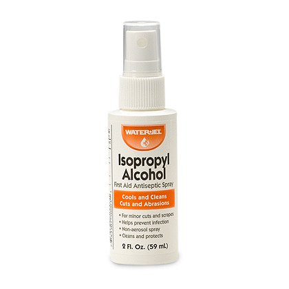 WaterJel Isopropyl Alcohol Spray, 2oz bottle