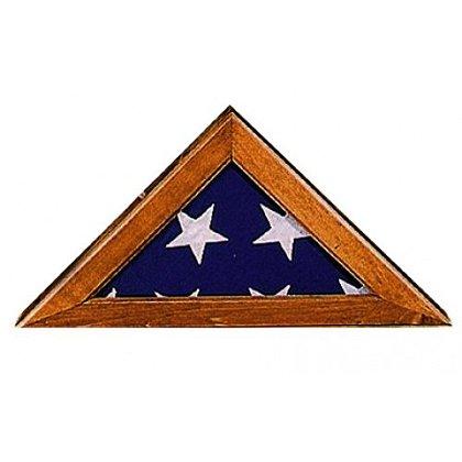 Annin: Walnut Commemorative Flag Case w/ Plexiglass