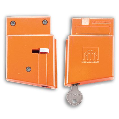 GunVault MagVault AR Lock, Hi-Vis Orange