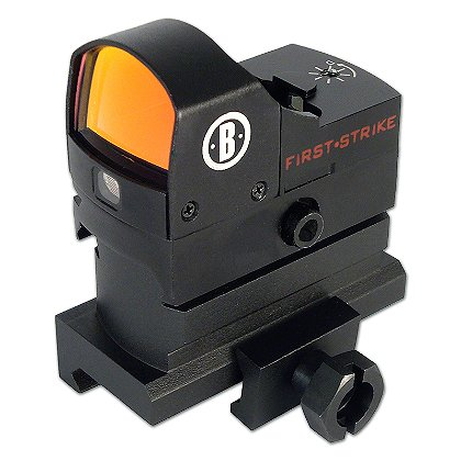 Bushnell: AR Optics First Strike Sight, Hi-Rise Mount, 5 MOA Red Dot