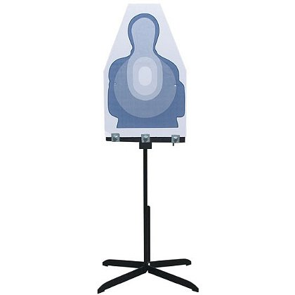 Action Target: Hold Plus Stand Height Holds Any Size Target