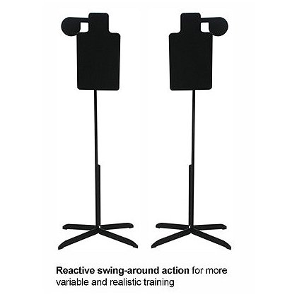 Action Target Reactive Swing Around Portable Hostage Target