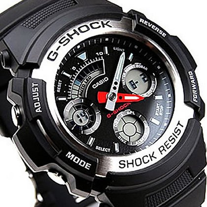 Casio G Shock Large Analog/Digital 200M WR