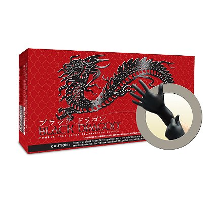 Microflex: Black Dragon Latex Glove