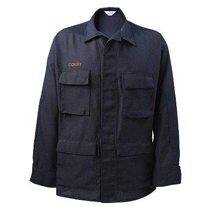Lion 4.5 oz. Nomex IIIA Tactix BDU Attack Shirt, Navy