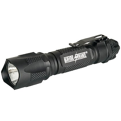"Brite-Strike: Tactical Blue Dot Flashlight, LED, 1 or 2 CR123A Batteries, 290 or 310 Lumens, 3.5"" or 5"" Long"