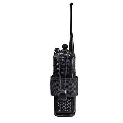 Bianchi 7323 AccuMold Adjustable Radio Holder, Black