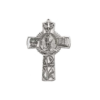 Blackinton St. Florian Firefighters Door Cross, 5
