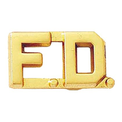 Blackinton: F.D. Letter Combination Pin
