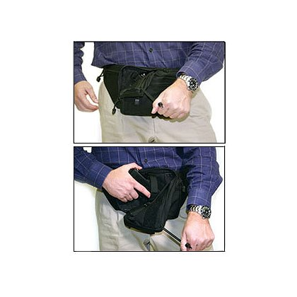 Blackhawk Concealed Weapon Fanny Pack, Black