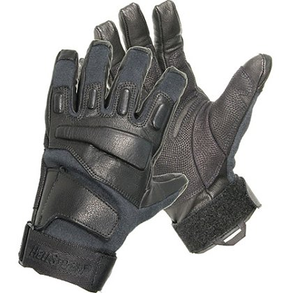 Blackhawk: S.O.L.A.G. Full Finger Gloves with Kevlar, Black