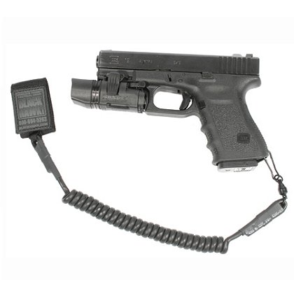 Blackhawk: Tactical Pistol Lanyard, Black