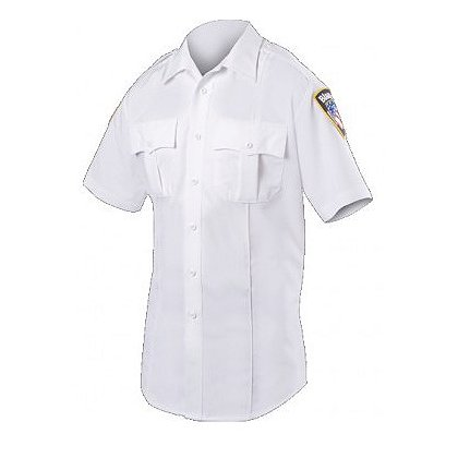 Blauer: Women's CLASSACT® Short Sleeve Zippered Polyester Shirt