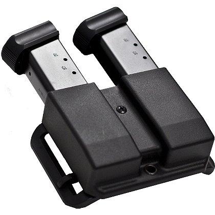 Blade-Tech: Black Tek-Lok Revolution Double Mag Pouch