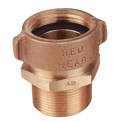 Red Head Brass Style BR54 Brass Female RL Swivel to Male Hex