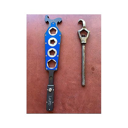 Better Tools EZ Spanner, Multi-Function Ratcheting Hydrant Spanner