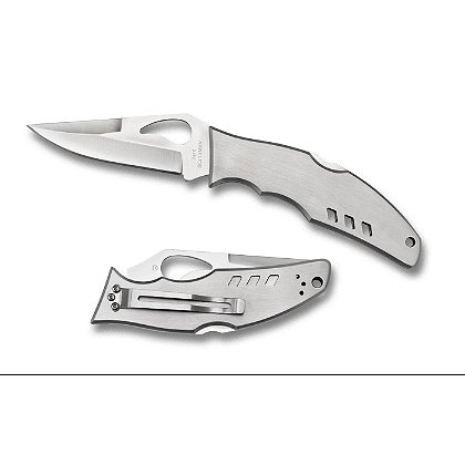 Spyderco Byrd Flight Folding Knife, Plain Edge