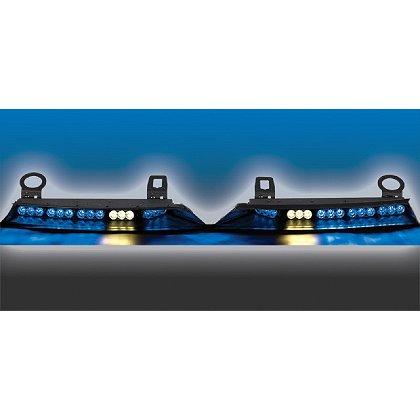 Code 3 SuperVisor U, Windshield Mount, Torus LED Technology, Universal Fit
