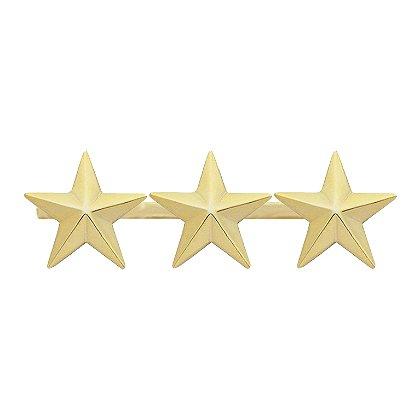 Smith & Warren: Three Collar Stars on Bar, 2.82