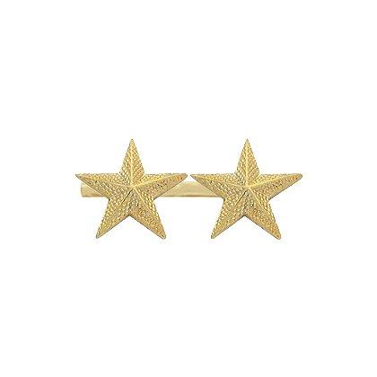 Smith & Warren Two Collar Stars on Bar, 1.76