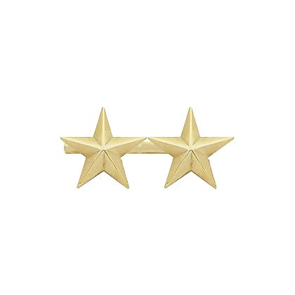 Smith & Warren Two Collar Stars on Bar, 1.22