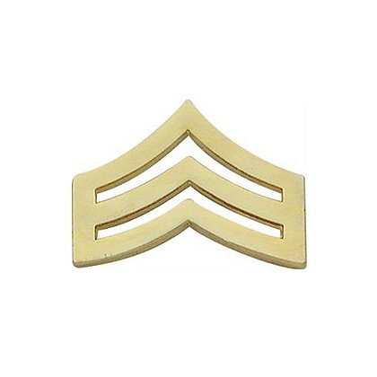 Smith & Warren: Sergeant Chevron Collar Pin, .89