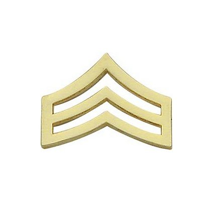 Smith & Warren: Sergeant Chevron Collar Pin, 1