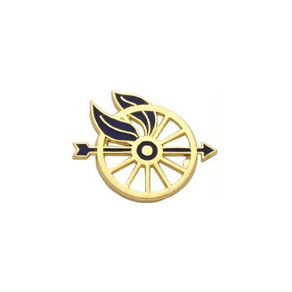 Smith & Warren: Wheel/Arrow Insignia (Right), 1