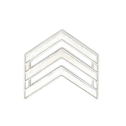 Smith & Warren: Sergeant Chevron Collar Pin, .94