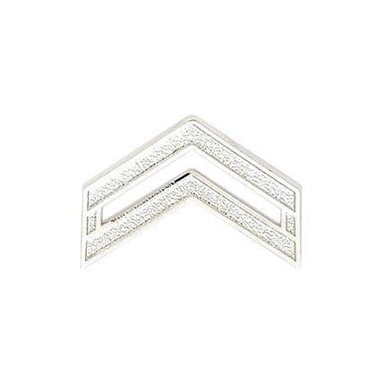 Smith & Warren Corporal Chevron Collar Pin, .94
