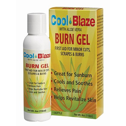 Cool Blaze: Burn Gel Squeeze Bottle