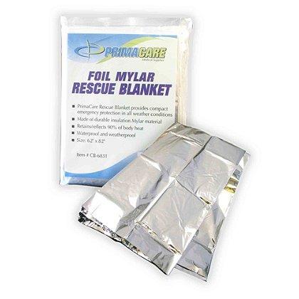 Primacare: Individual Mylar Foil Blanket