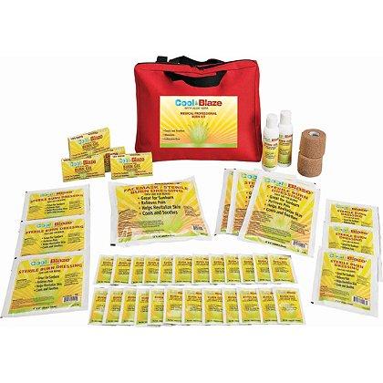 Cool Blaze:  Soft Case Medical Professional Burn Kit