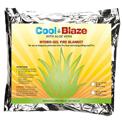 Cool Blaze Heat Shield Blankets