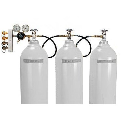 Air Systems: Cascade Breathing Air Assembly (Cylinders Not Included)