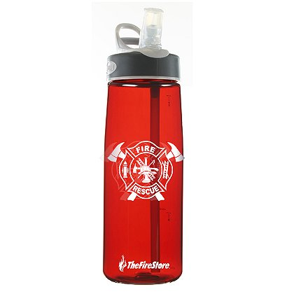 CamelBak: TheFireStore Exclusive Eddy Bottle with Fire Rescue Maltese Cross, .75L