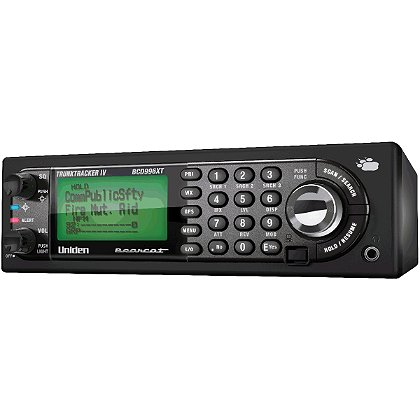 Uniden Digital Mobile Scanner with 25,000 Channels & GPS Support