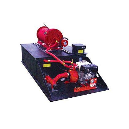 C.E.T. Fire Pumps Drop-in Portable Pump Skid Unit