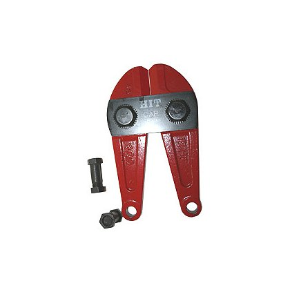 Zico: 4095 Hi-Tensile Center Cut Bolt Cutter, Head Only, Red