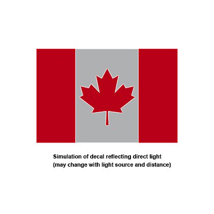 TheFireStore Reflective Canadian Flag, 2
