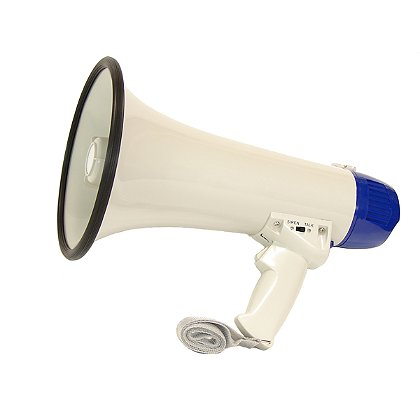 Code Red: 15 Watt Loudmouth Megaphone with Siren
