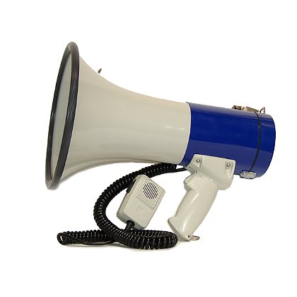 Code Red: 25 Watt Megaphone with Siren & Remote Microphone