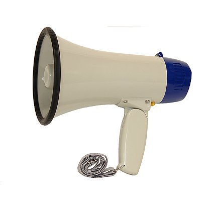 Code Red: 8 Watt Loudmouth Megaphone with Siren