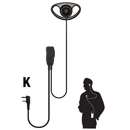Code Red: Quest Single Wire Lapel Microphone w/ D-Ring