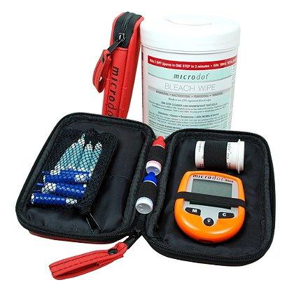 Cambridge Sensors Microdot XTRA EMS Glucometer Kit