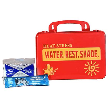 Certified Safety Heat Stress Relief Kit