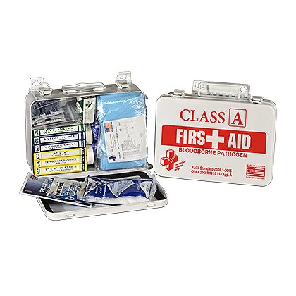 Certified Safety Class A & BloodBorne Pathogen Medical Kit