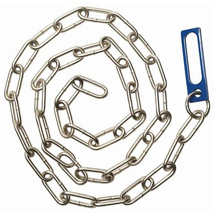 CTS: Thompson Blue Hardened Waist Chain, 60