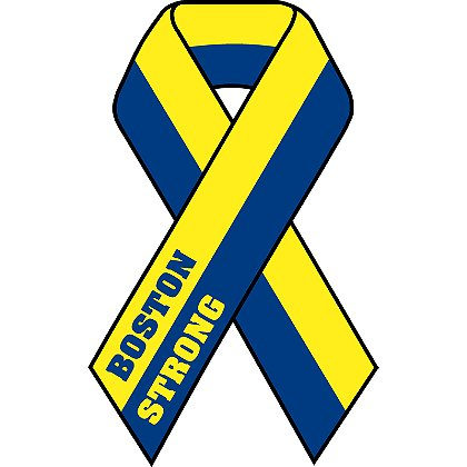 TheFireStore: Boston Strong Remembrance Ribbon Decal