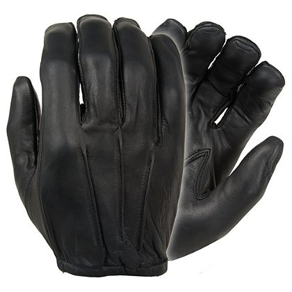 Damascus: Dyna-Thin Unlined Leather Glove, Black